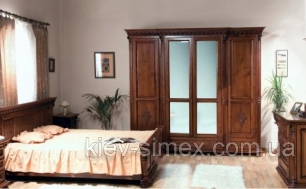 спальня венеция люкс купить в киеве дерево доставка мебельный